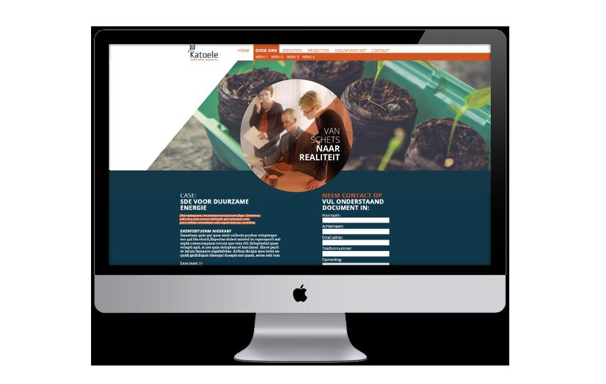 Communicatieconcept, naam en website Katoele Subsidie Experts