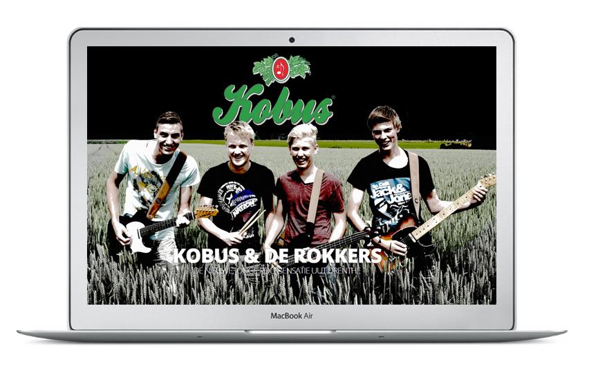 Website Kobus & de Rokkers