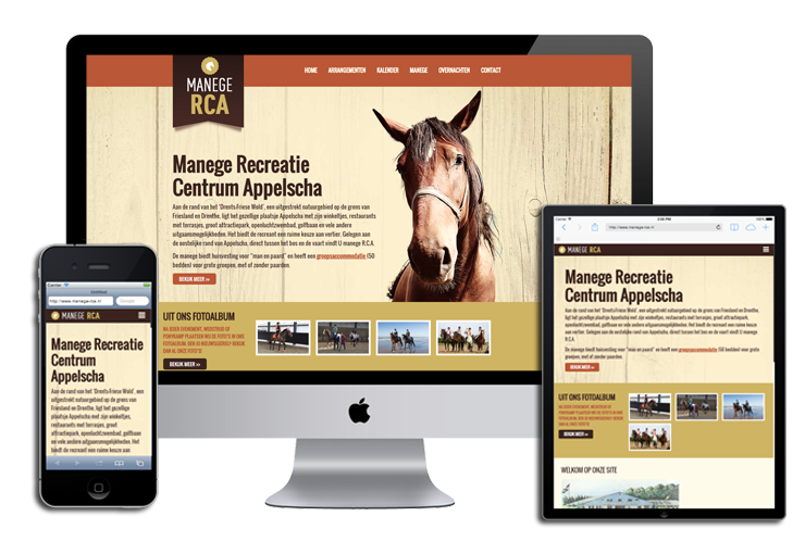 WordPress Website Manege RCA