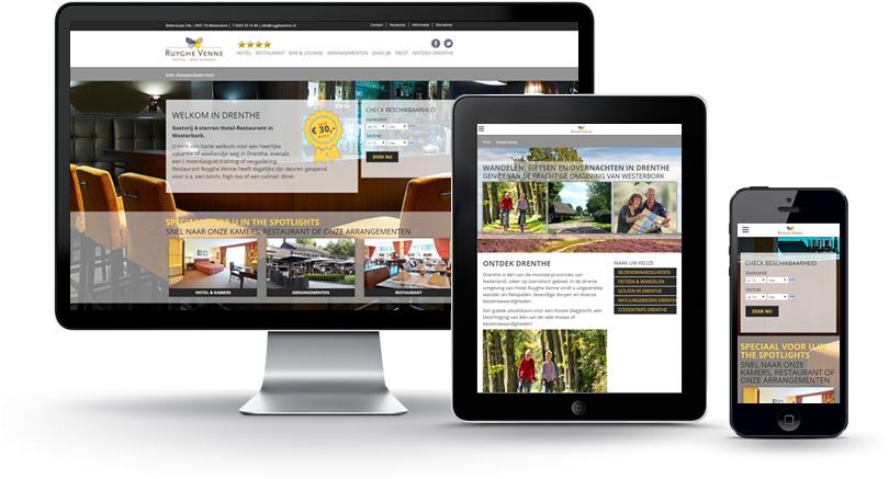 Responsive Website Ruyghe Venne